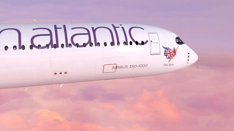 Virgin Atlantic replaces the Flying Lady with a diverse range of 'flying icons': Virgin Atlantic