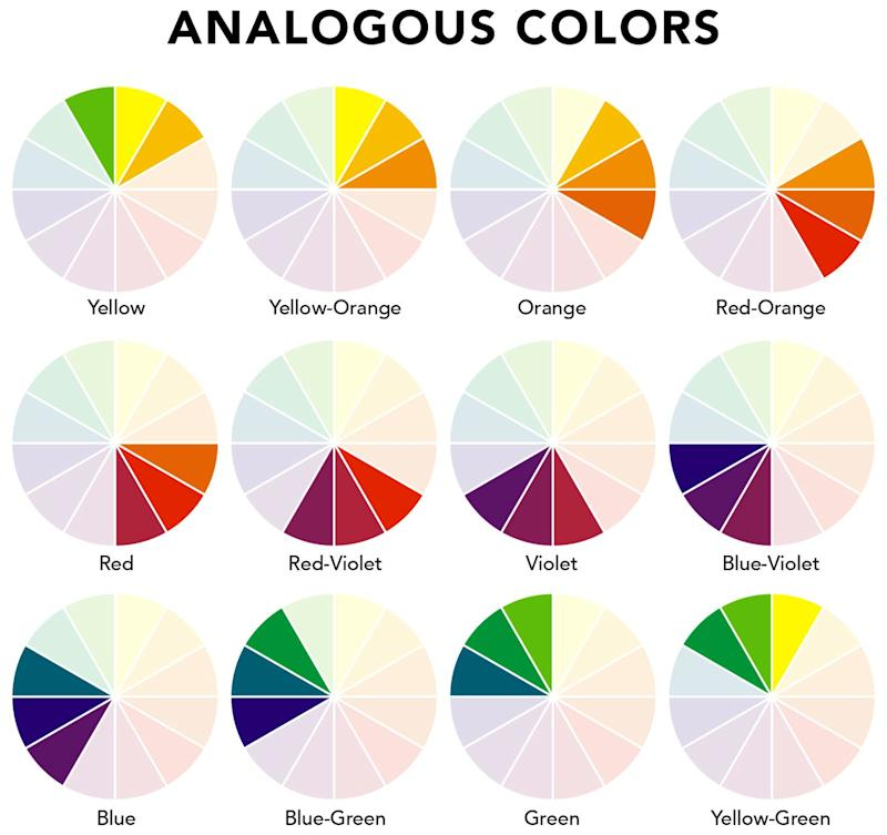Forget monochrome here s why an analogous color scheme - Analogous color scheme definition ...