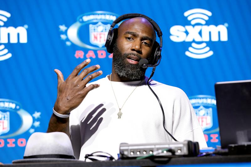 Malcolm Jenkins, one of the NFL's most outspoken players, will be joining CNN as a contributor. (Photo by Cindy Ord/Getty Images for SiriusXM )