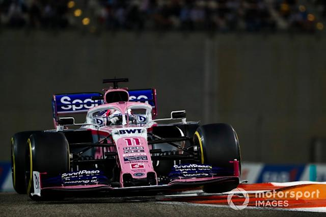 "Sergio Perez, Racing Point RP19 <span class=""copyright"">Sam Bloxham / Motorsport Images</span>"
