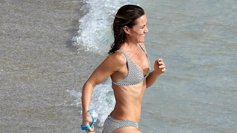 Pippa Middleton Looks Like Our 2020 Resolution in Bikini Vacation Pic