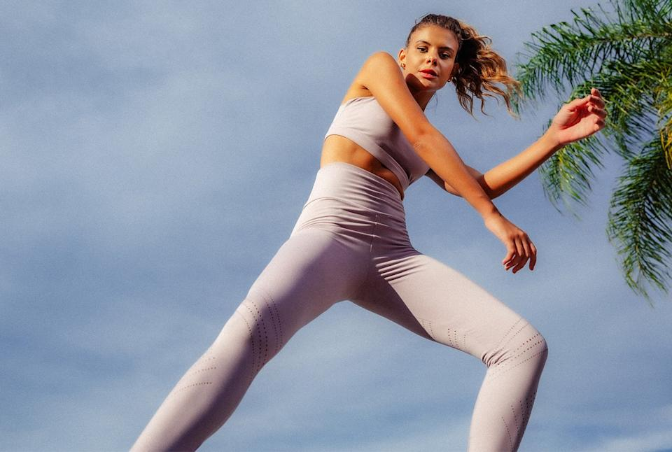 MPG SPort's sustainable activewear is perfect for spring. Image via MPG Sport.