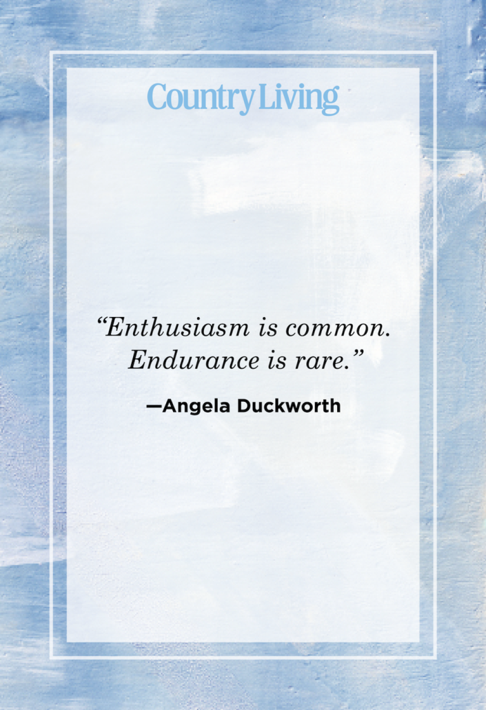 """<p>""""Enthusiasm is common. Endurance is rare.""""</p>"""