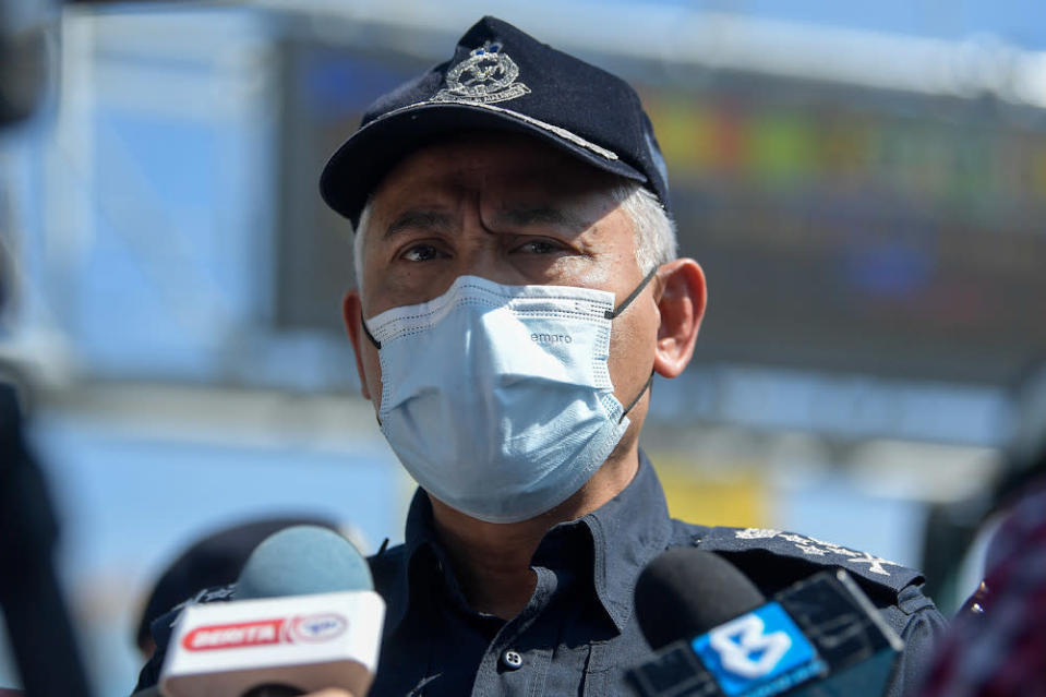 Deputy Inspector-General of Police Datuk Seri Acryl Sani Abdullah Sani that at least eight police reports have been received from various individuals on the phone conversation as of this morning. — Bernama pic