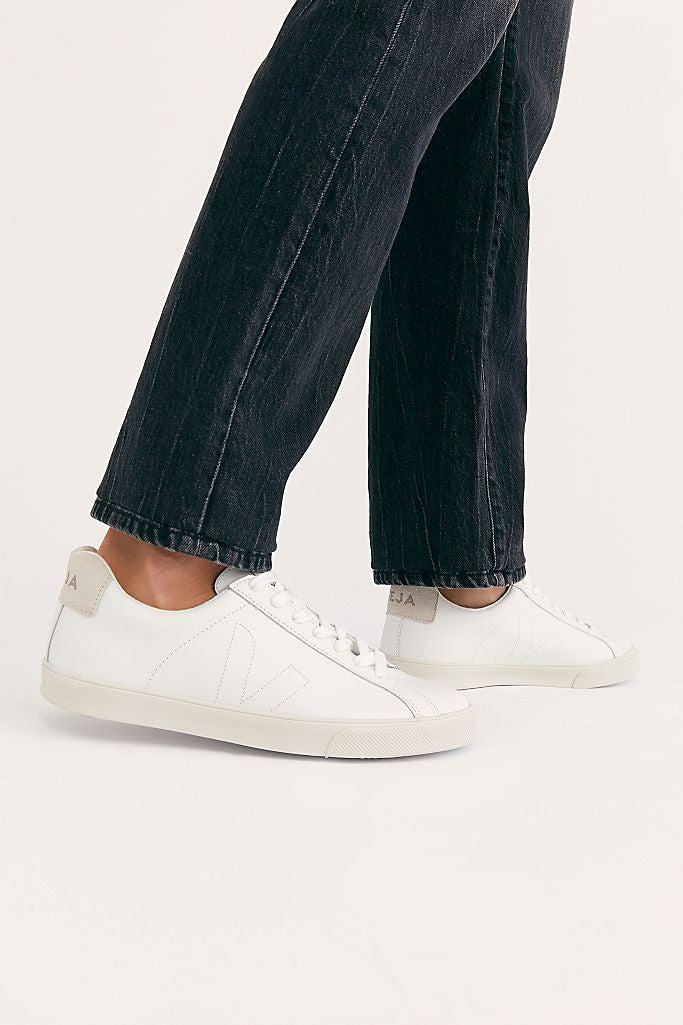 "<br><br><strong>VEJA</strong> Esplar Sneakers, $, available at <a href=""https://go.skimresources.com/?id=30283X879131&url=https%3A%2F%2Fwww.freepeople.com%2Fshop%2Fveja-esplar-sneaker%2F"" rel=""nofollow noopener"" target=""_blank"" data-ylk=""slk:Free People"" class=""link rapid-noclick-resp"">Free People</a>"