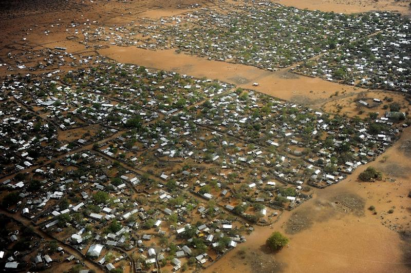 A general view of the Dadaab refugee camp in eastern Kenya, the largest refugee camp in the world on July 23, 2011 (AFP Photo/Tony Karumba)