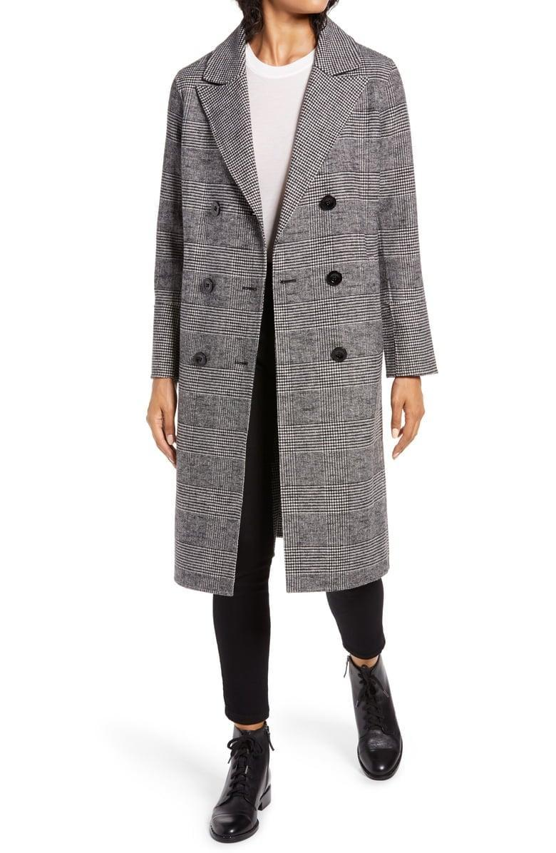 <p><span>Kenneth Cole New York Houndstooth Wool Blend Coat</span> ($180, originally $300)</p>