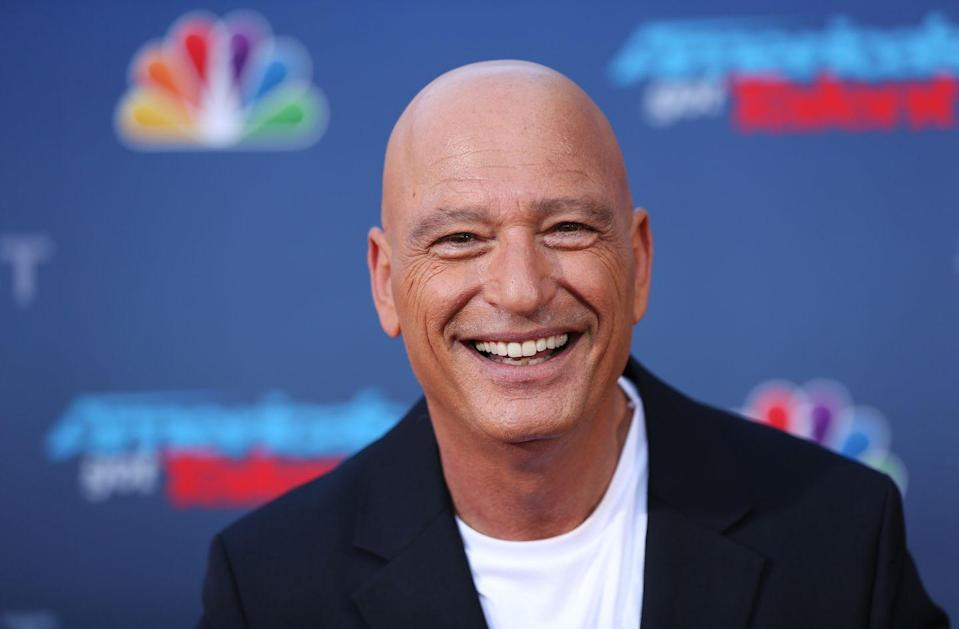 """<p>Howie Mandel initially shaved his head to help <a href=""""https://abcnews.go.com/2020/howie-mandel-public-obsessive-compulisve-disorder-fear-germs/story?id=9153966"""" rel=""""nofollow noopener"""" target=""""_blank"""" data-ylk=""""slk:keep his mental health in check"""" class=""""link rapid-noclick-resp"""">keep his mental health in check</a> as he battled OCD and anxiety, but it soon turned into the <em>Deal or No Deal </em>host's signature look. </p>"""