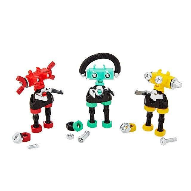 <p>This cute little <span>Build Your Own Robot Kit</span> ($15) includes instructions to make three colorful robots. If they love tech, this will make them so happy.</p>