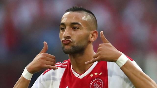 The Morocco star claims he had already decided to remain in Amsterdam when the Bundesliga champions lined up a swoop for his services