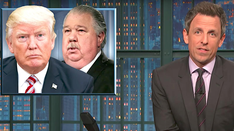 Seth Meyers Rips Donald Trump's USDA Hires: 'A Team For A S****y Bank Heist'