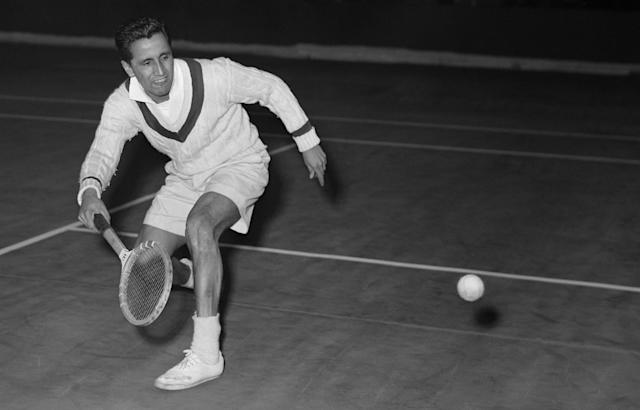 <p>Pancho Segura (1921-2017): Former No. 1 player in the world and member of the International Tennis Hall of Fame. </p>