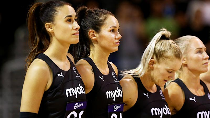 Maria Folau, pictured here in action for New Zealand in the Constellation Cup against Australia.