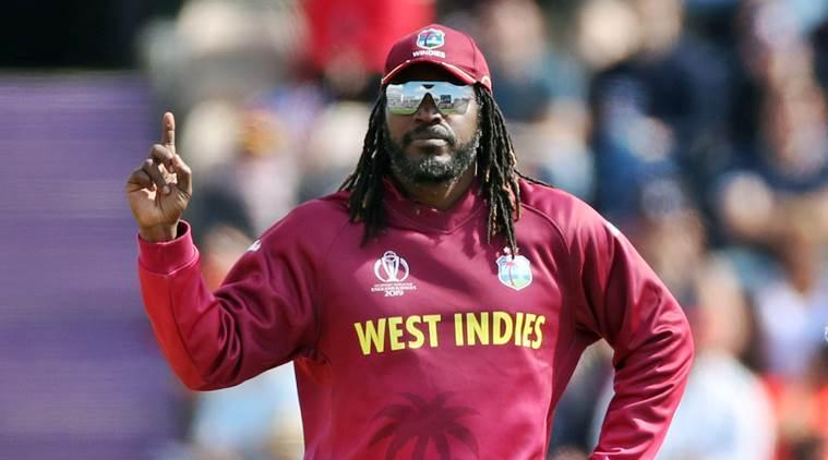 Chris gayle, Chris Gayle west indies, Gayle world cup 2019, Gayle world cup, Cricket world cup 2019, 2019 cricket world cup, 2019 world cup Chris Gay, Shai Hope, Marlon Samuels, West Indies 2019 World cup, west indies cricket, indian express sports, sports news