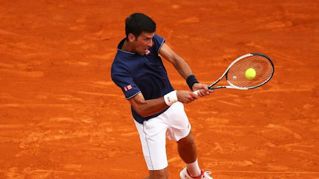 Novak Djokovic was forced to withstand a Gilles Simon barrage to reach round three of the Monte Carlo Masters.
