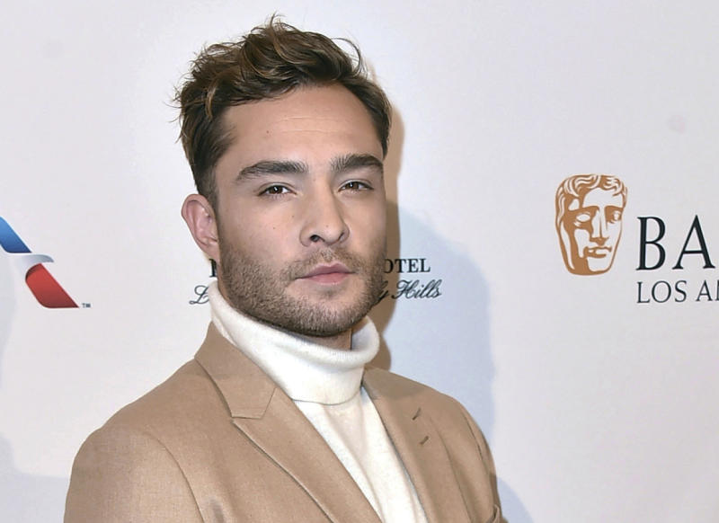 """FILE - In this Jan. 9, 2016 file photo, actor Ed Westwick arrives at the BAFTA Awards Season Tea Party at the Four Seasons Hotel in Los Angeles. Police in Los Angeles say that the Westwick investigation is among more than 25 open investigations into entertainment figures. The former """"Gossip Girl"""" star was accused by multiple women of sexual assault. Westwick has denied the allegations. (Photo by Jordan Strauss/Invision/AP, File)"""