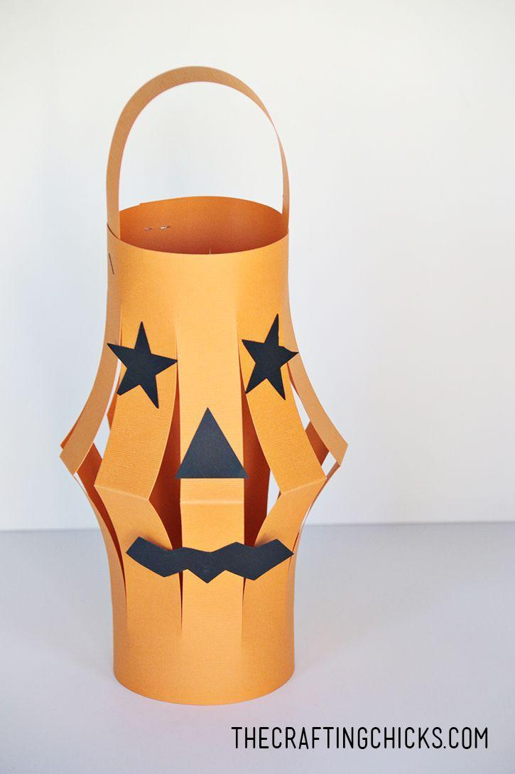 """<p>Kids will be amazed when they see these Halloween paper lanterns take shape with just a few scissor cuts. Add battery-operated votives for a pretty glow.</p><p><strong>Get the tutorial at <a href=""""http://thecraftingchicks.com/halloween-paper-lanterns-kid-craft/"""" rel=""""nofollow noopener"""" target=""""_blank"""" data-ylk=""""slk:The Crafting Chicks"""" class=""""link rapid-noclick-resp"""">The Crafting Chicks</a>.</strong></p>"""