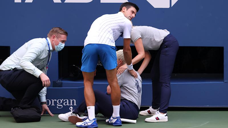 Djokovic will never forget US Open default – but can't promise he won't transgress again