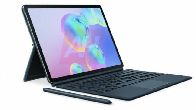 Some official press renders of the Galaxy Tab S6 have surfaced, revealing and confirming the design of the tablet ahead of its rumoured August 7 launch.