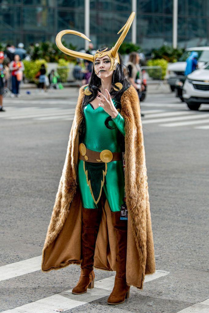 """<p>Another Marvel character that took over 2021 is Loki. The Disney+ show named after the God of Mischief is sure to make his unique outfit a top Halloween costume. </p><p><a class=""""link rapid-noclick-resp"""" href=""""https://www.amazon.com/Helmet-Ragnarok-Halloween-Cosplay-Costume/dp/B091TBQ2FM/?tag=syn-yahoo-20&ascsubtag=%5Bartid%7C10055.g.29516206%5Bsrc%7Cyahoo-us"""" rel=""""nofollow noopener"""" target=""""_blank"""" data-ylk=""""slk:SHOP HELMET"""">SHOP HELMET</a></p>"""