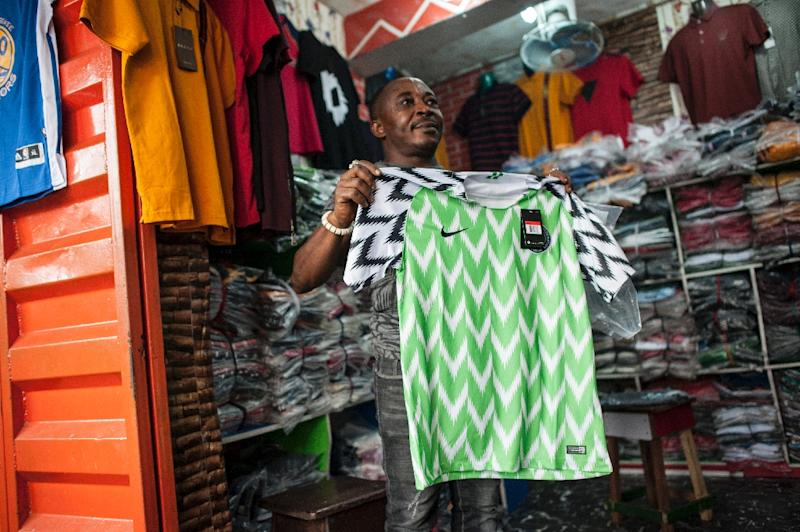 69c331036 The Nigeria Super Eagles jersey for the 2018 World Cup in Russia has been  hugely popular