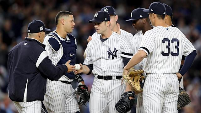 The New York Yankees will face the Cleveland Indians in the ALDS after outlasting the Minnesota Twins.