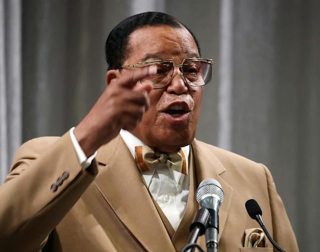 Nation of Islam leader Minister Louis Farrakhan recently said