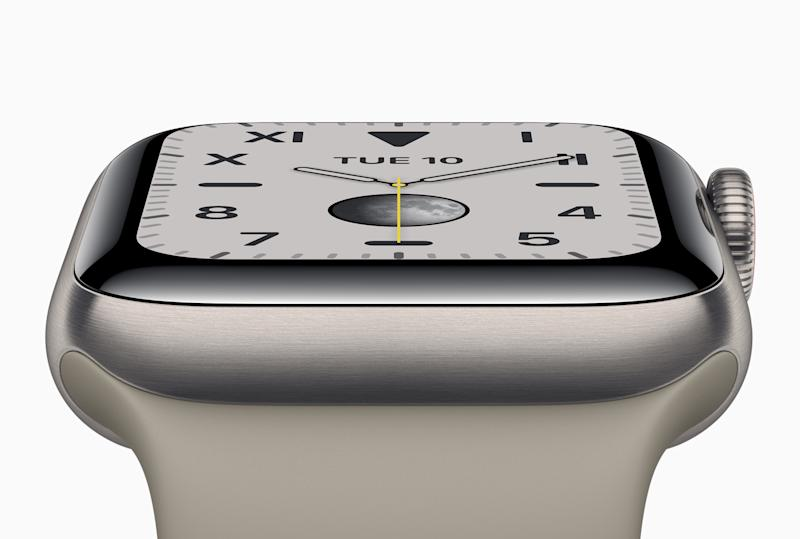 Kassenschlager aus Cupertino: die Apple Watch Series 5 © Apple