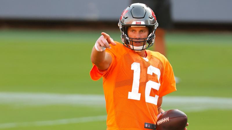 Tom Brady had 'a hell of a day' in first Bucs scrimmage