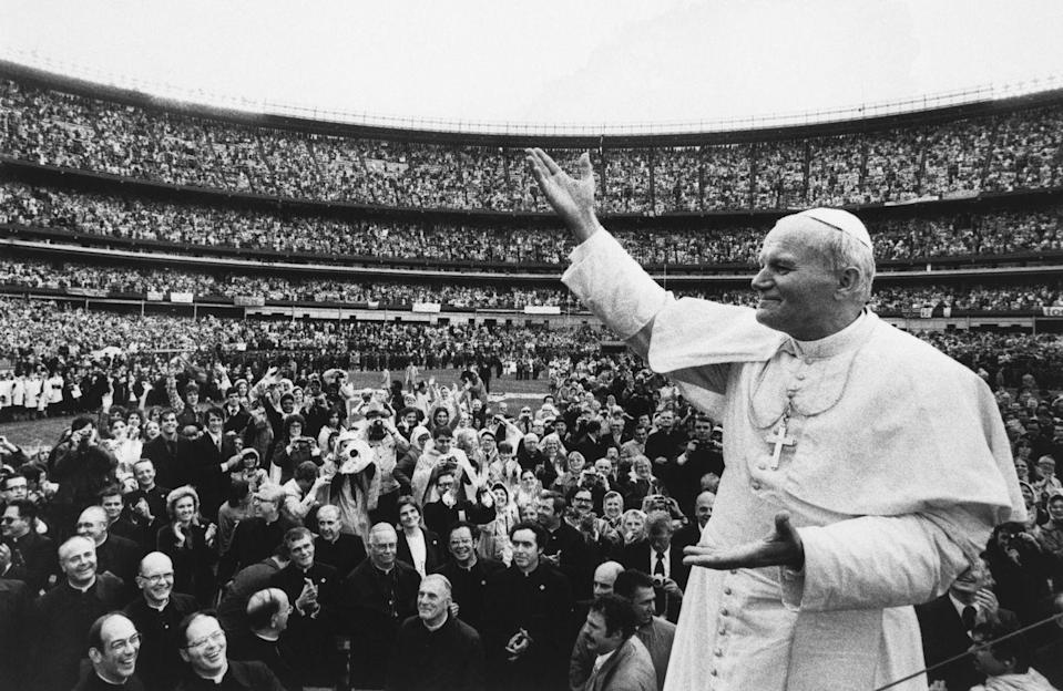<p>Following the second Papal conclave of 1978, Pope John Paul II was elected Pope after his predecessor, Pope John Paul I, died just 33 days after taking the papacy. </p>