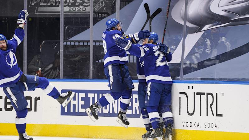 Point's OT goal helps Lightning eliminate Blue Jackets in Game 5