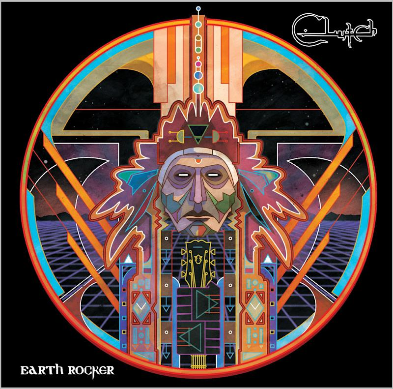 """This CD cover image released by Weathermaker Music shows """"earth Rocker,"""" by Clutch. (AP Photo/Weathermaker Music)"""