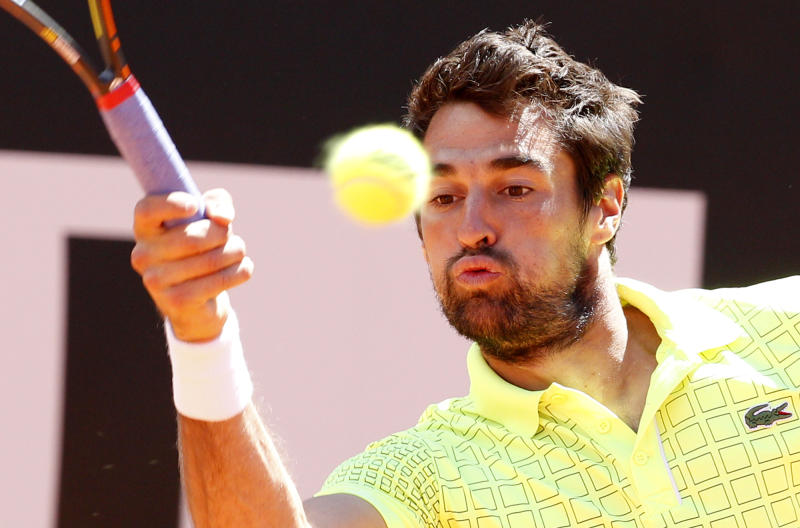 Cuevas knocks Chardy out of Swedish Open