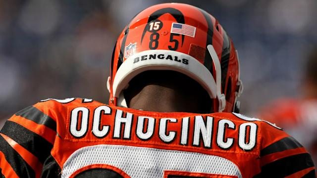 "The Giants lost several wide receivers to injury on Sunday, so Chad ""Ochocinco"" Johnson asks for a job."