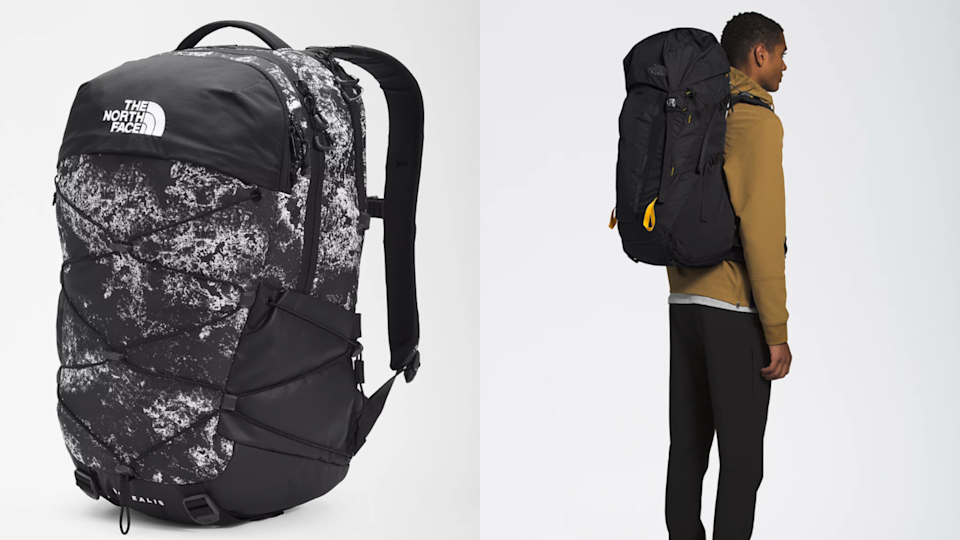 Save your back with a comfortable backpack.