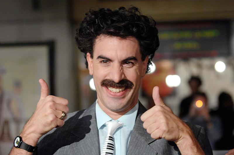 Sacha Baron Cohen Filmed Borat 2 When No One Was Paying Attention