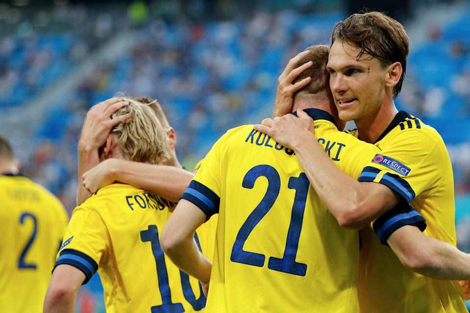 Sweden topped Group E at Euro 2020 despite the absence of Zlatan Ibrahimovic (Getty Images)