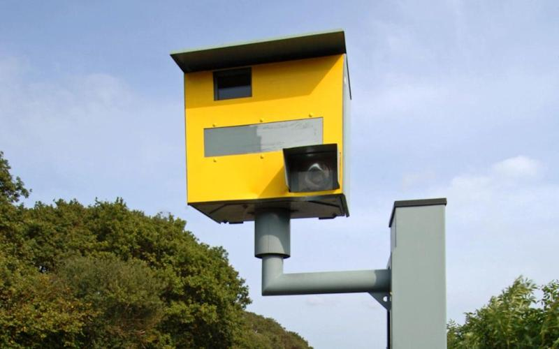 UK speed camera - Credit: Jack Sullivan / Alamy