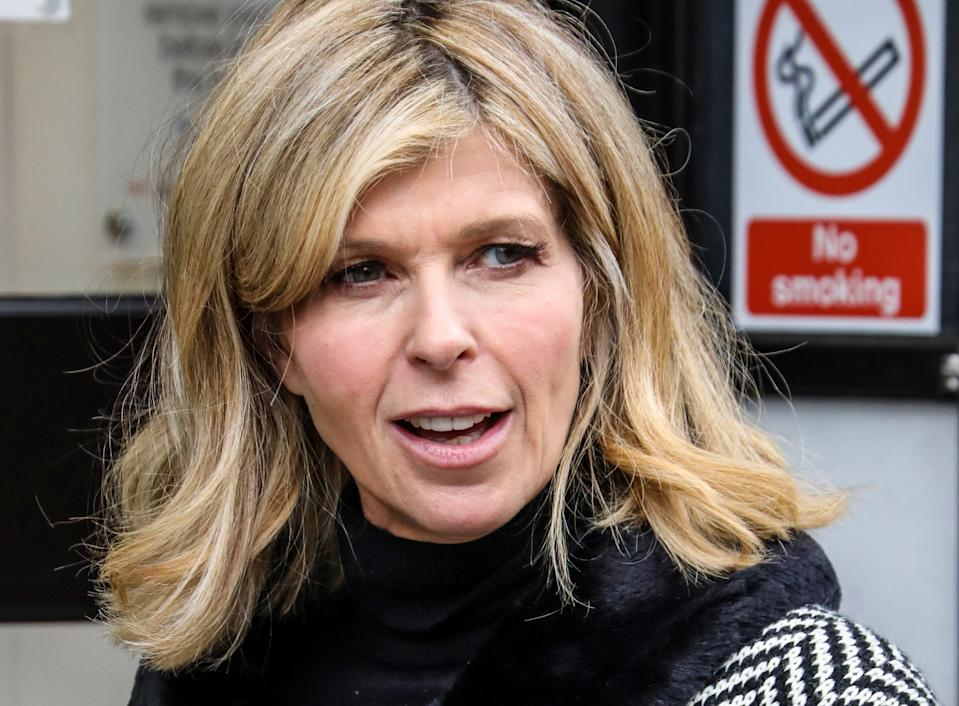 LONDON, UNITED KINGDOM - 2020/11/13: Kate Garraway seen departing The Global Radio Studios In London. (Photo by Brett Cove/SOPA Images/LightRocket via Getty Images)
