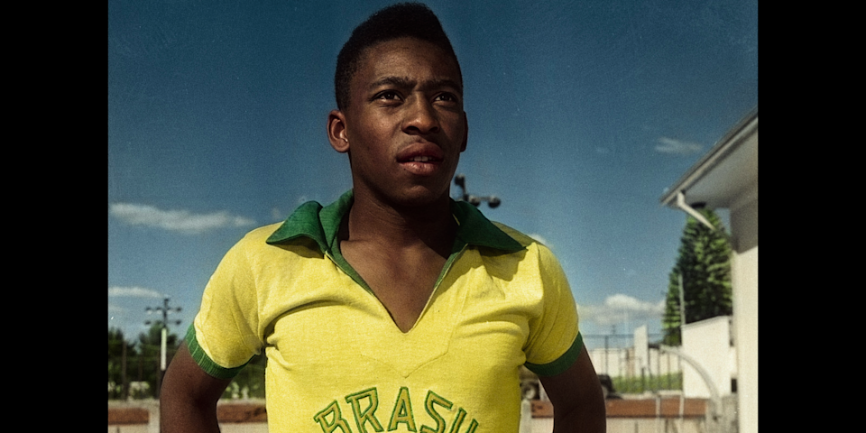 Netflix's Pele documentary debuts on the streaming site on Tuesday. (Netflix)