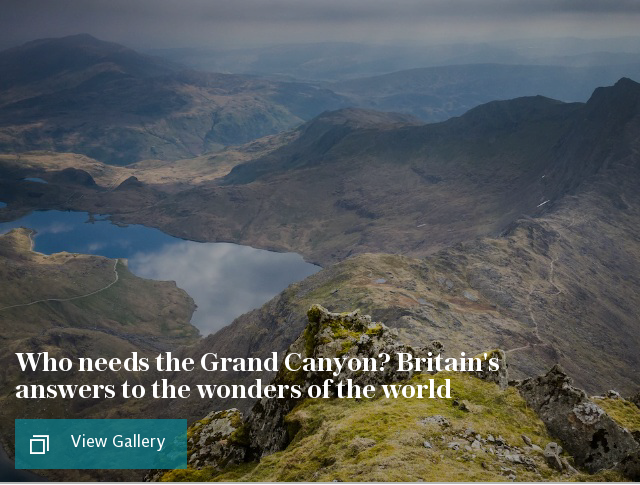 Who needs the Grand Canyon? Britain's answers to the wonders of the world