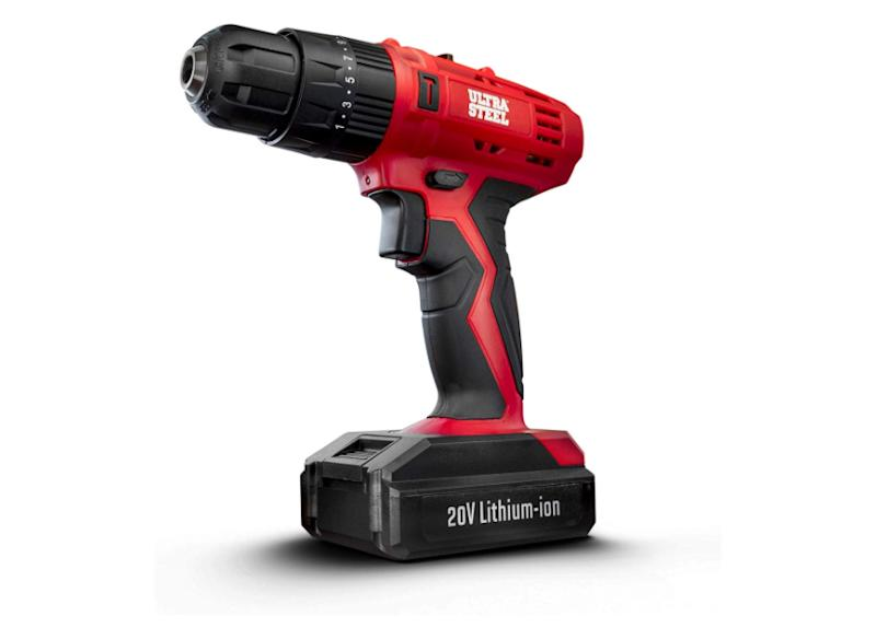 This cordless power drill has a 4.5 out of five stars. (Photo: Amazon)