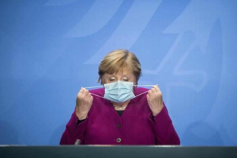 German Chancellor Angela Merkel warned the worst was yet to come