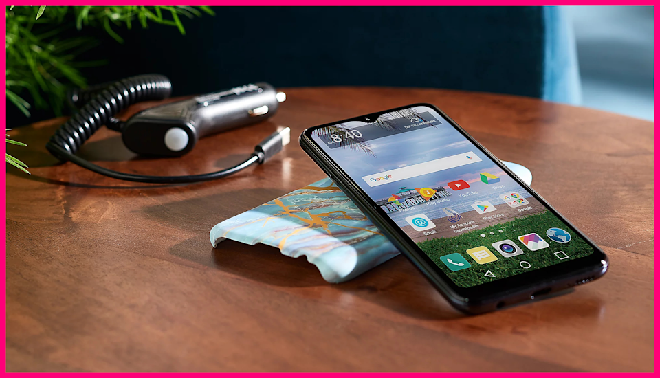 It even comes with a case to protect your new awesome phone. How cool is that? (Photo: QVC)