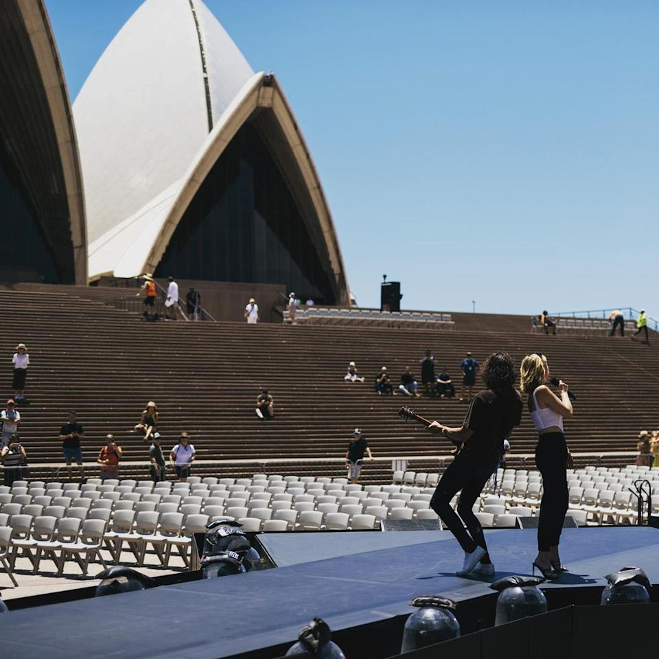 Delta Goodrem at the Opera House in 2021