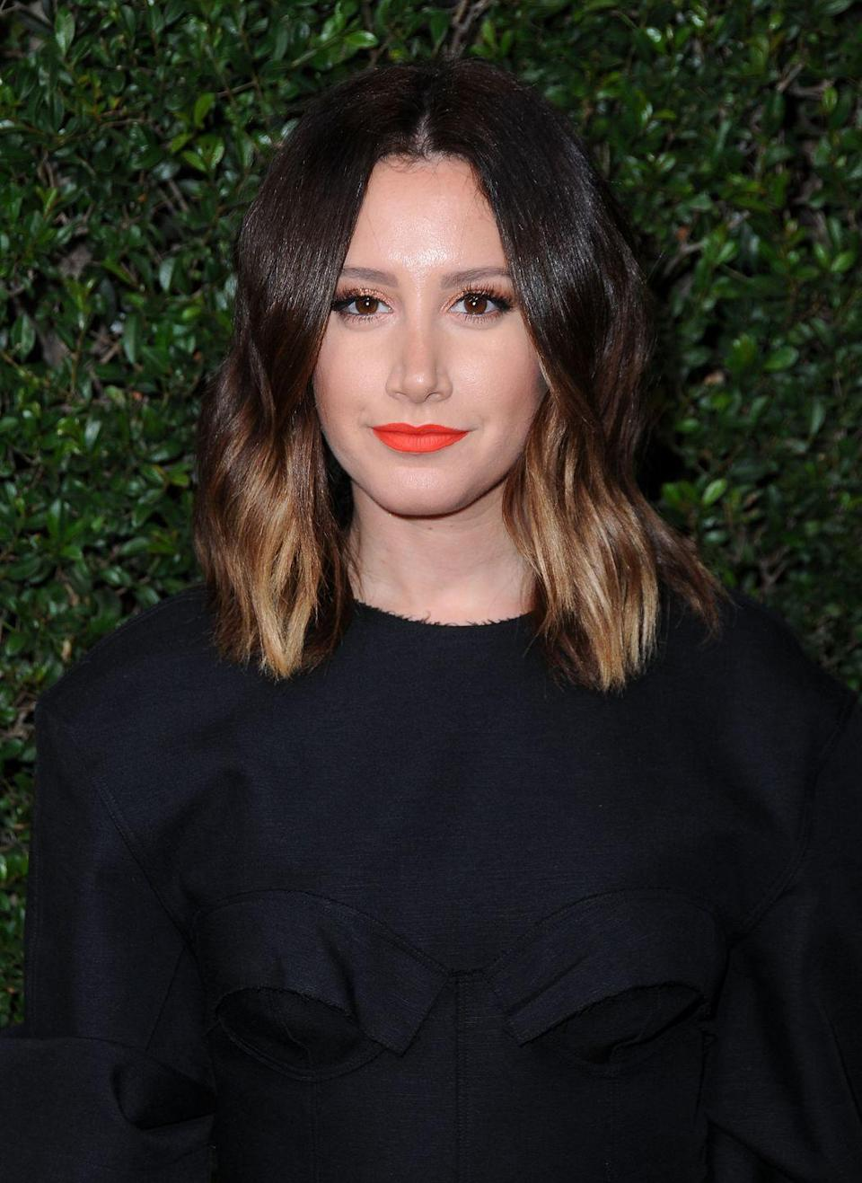 """<p>Back in 2007, the <em>High School Musical </em>star had a rhinoplasty procedure to fix a deviated septum. While Ashley admitted to getting the procedure to <em><a href=""""https://people.com/bodies/high-school-musicals-ashley-tisdale-gets-nose-job/"""" rel=""""nofollow noopener"""" target=""""_blank"""" data-ylk=""""slk:PEOPLE"""" class=""""link rapid-noclick-resp"""">PEOPLE</a></em>, she also insisted that she had it done due to trouble breathing out of the right side of her nose. </p><p>""""I didn't do this because I believe in plastic surgery,"""" she said. """"I did this to help my health... I just want to be honest because my fans are everything to me.""""<br></p>"""
