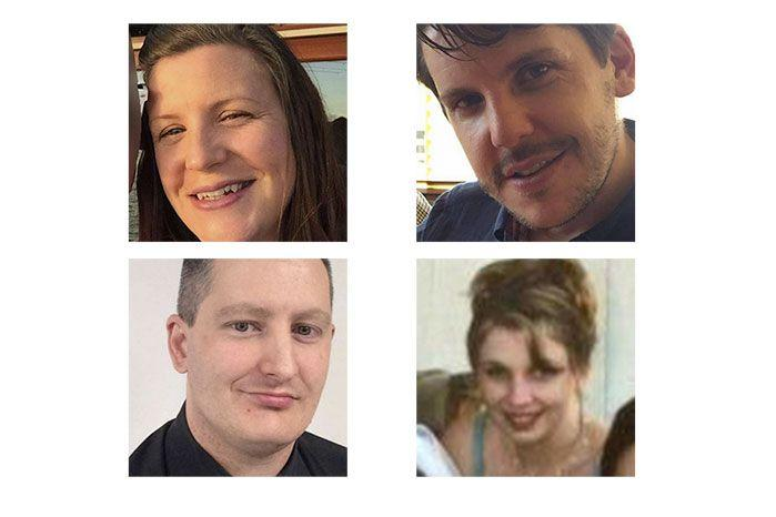 The four people killed in the tragedy: Canberra mother Kate Goodchild, 32, her brother Luke Dorsett, 35, and his partner Roozbeh Argahi, 38, as well as 42-year-old Cindy Low.