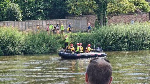 A huge search operation was launched after the teenager went missing in the River Dee (reach)