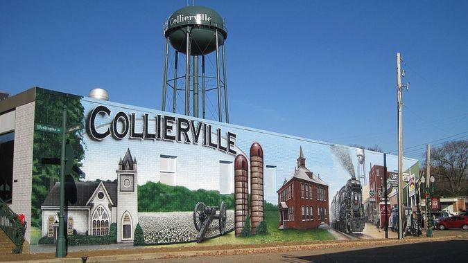 Collierville Tennessee town square