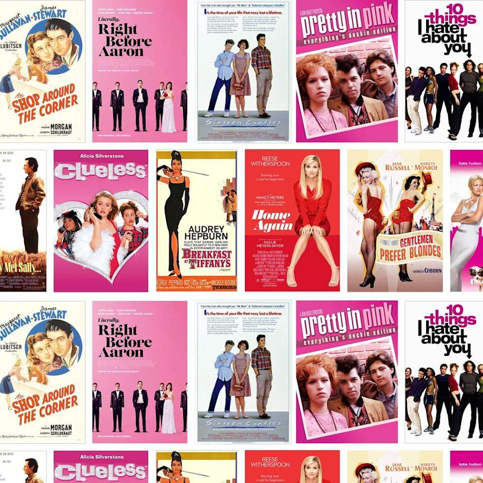 "<p>There's probably never been a better time for a movie marathon, and because we love a good emotional rollercoaster, we've rounded up the best romantic comedies to hit you right in the feels. Pull on your coziest pajamas, grab your fluffiest blanket, pop some popcorn (and maybe grab a bottle of wine — something from our list of the <a href=""https://www.goodhousekeeping.com/food-products/g33644539/best-cheap-wine-brands/"" rel=""nofollow noopener"" target=""_blank"" data-ylk=""slk:best cheap wine brands"" class=""link rapid-noclick-resp"">best cheap wine brands</a>, perhaps?), snag a box of tissues, and get ready to giggle and sniffle along with your favorite stars as they remind us that love isn't dead after all. </p><p>We love a good rom-com watch sesh from time to time (especially if it happens to feature some of the <a href=""https://www.goodhousekeeping.com/life/entertainment/g25575811/romantic-movies-netflix/"" rel=""nofollow noopener"" target=""_blank"" data-ylk=""slk:best romantic movies on Netflix"" class=""link rapid-noclick-resp"">best romantic movies on Netflix</a>) because it reminds us that sometimes, everything really does work out OK in the end. So what if some of them are so far-fetched, they'd also fit perfectly in the fantasy section? When you need to escape the real world and just want to turn off your brain for awhile, you can't beat a good love story. Let's stop calling the genre a ""guilty pleasure"" and acknowledge that there's nothing wrong with having a little fun. Here are the best options you could ask for, from old classics to fun new flicks. Hit play and enjoy! </p>"